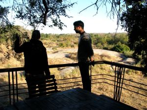Francois learns more about Leadwood Lodge, Sabi Sand Game Reserve
