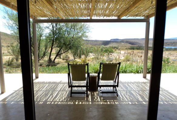Sanbona Wildlife Reserve | Gondwana Lodge's view from our room