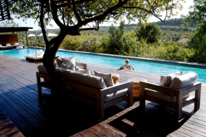 Lap pool at Singita's Lebombo Lodge