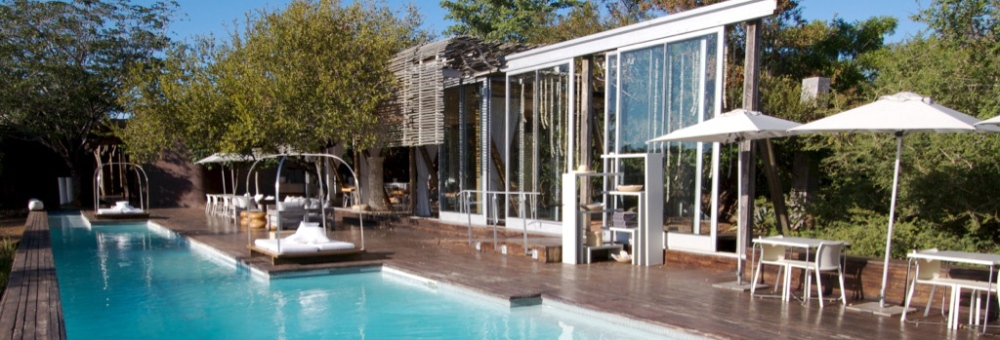 Swimming Pool at Singita's Lebombo Lodge