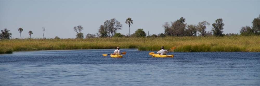 Kayaking Safari Botswana