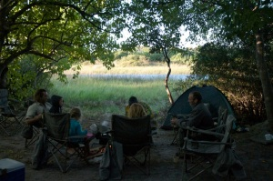 Botswana Kayaking and Camping Trip