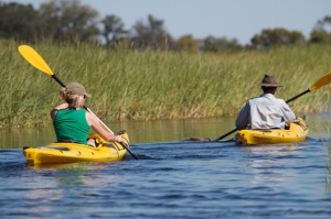 Kayaking Safari in Africa