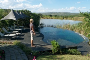 Main pool at Kichaka, right next to Harry the Hippo's pool