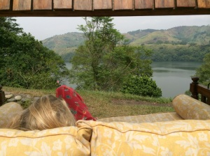 Relax with a view...Ndali Lodge