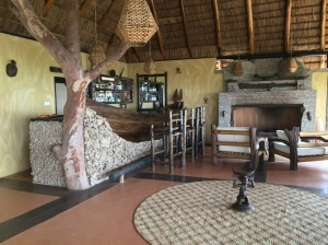 Main lodge, Kyambura