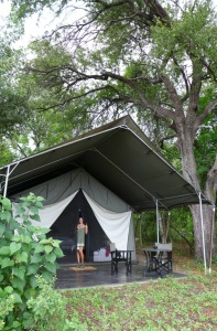 Machaba luxury tent