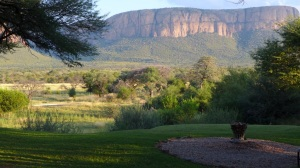 Classic Waterberg view from the main safari lodge